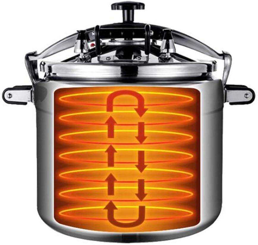 18L // 25L // 33L // 50L de grande capacit/é autocuiseur anti-d/éflagrant rapide Chauffage multif Aluminium Cooker Pression commerciale Cuisini/ère au gaz sp/écial Pot H/ôtel Restaurant Cuisine utilisation