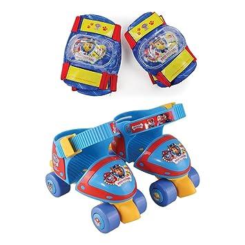 PAW PATROL Patines Infantiles 4 Ruedas + Protecciones (Darpeje OPAW019): Amazon.es: Juguetes y juegos