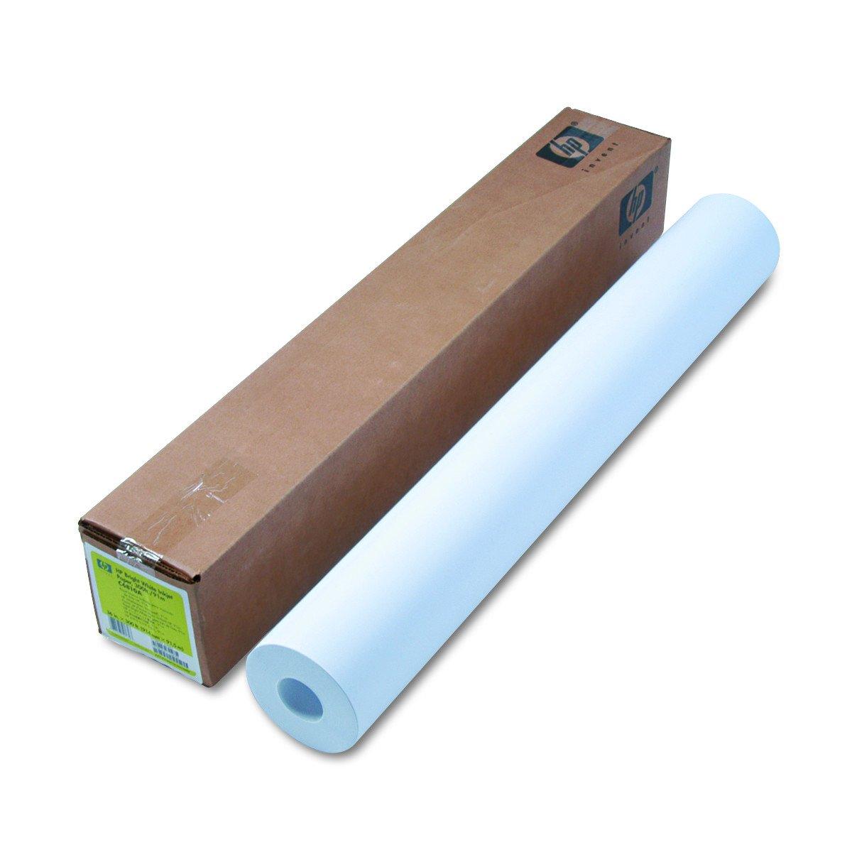 HP Bright White Inkjet Paper 4.7 mil, 24 lb, 90 g/m2, 2'' Core, 1 roll/carton (36'' x 300')