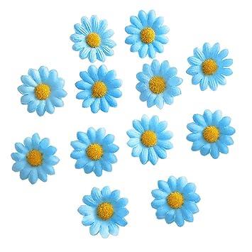 glitter bow Suede clip glitter snap clip Daisy hair clip daisies clip daisys glitter clic clac Glitter daisy clips Flower hair slide