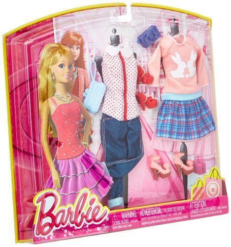 Barbie Day Looks Fashion Pack Assortment by Mattel