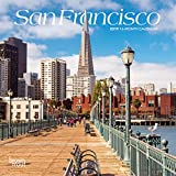 San Francisco 2019 7 x 7 Inch Monthly Mini Wall Calendar, USA United States of America California Pacific West City