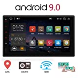 Android 10.0 Car Stereo 2 Din GPS Navigation with 7 inch Touch Screen Double Din Car Radio Head Unit Car Video Player NO-DVD in Dash Autoradio Support Bluetooth USB SD WiFi 4G Phone Mirroring