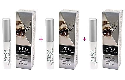 6eda963c066 3X FEG Eyelash enhancer!!! 3 pieces of most powerful eyelash growth Serum  100