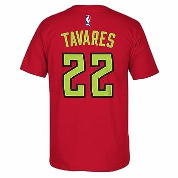 Adidas Walter Tavares Atlanta Hawks de la NBA Rojo Reproductor Nombre y número del Equipo Jersey Camiseta para Hombre, XL, Rojo: Amazon.es: Deportes y aire ...