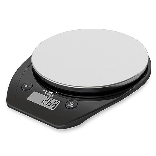 991 opinioni per Smart Weigh Bilancia digitale multifunzione da cucina e per cibo con piattaforma
