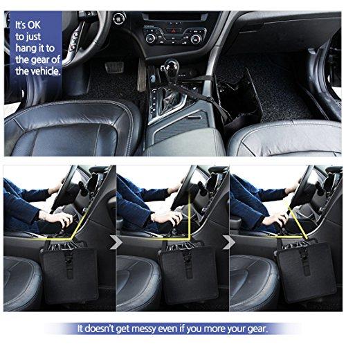 Kmmotors Jopps Comfortable Car Garbage Can Portable Drive