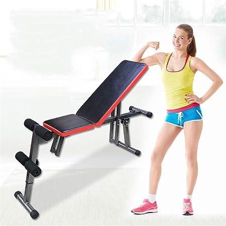Amazon.com : Xiuzhifuxie Sit Up AB Incline Bench Gym ...