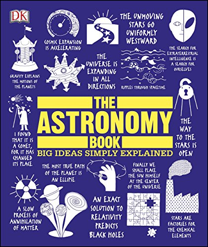 The Astronomy Book: Big Ideas Simply Explained cover