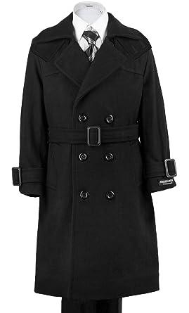232dd3295a9d Amazon.com  Armando Martillo Boys  Warm Winter Wool Dress Coat ...