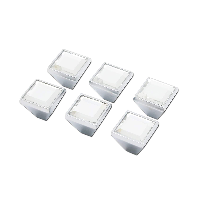 6 Tiradores - Simil Cristal (7ZNRGNGG)