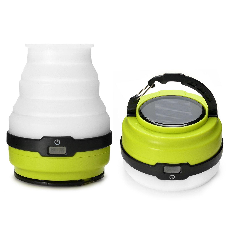 Odoland Usb Rechargeable Solar Led Camping Lantern 3