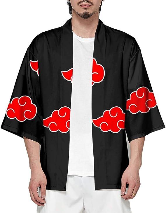 Anime-Cos Anime Naruto Kimono Camisa de Punto Abierto cárdigan ...