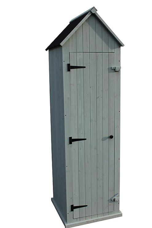 Al aire libre grande Brighton armario de almacenamiento de jardín de madera o cobertizo de jardín