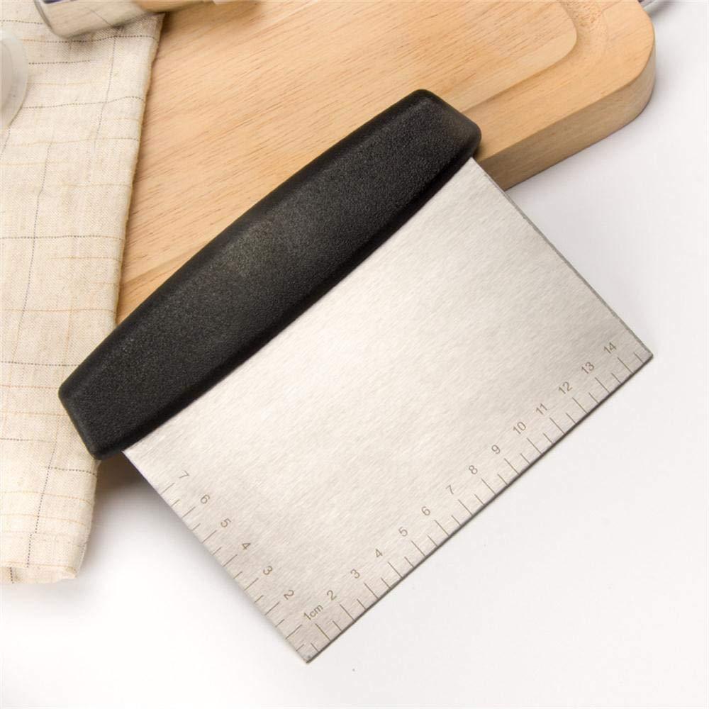 Amazon.com: UmFun - Cortador de masa de pizza de acero ...