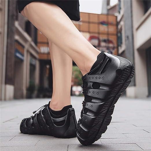 e40252d301b10 Amazon.com: Sameno Street All White Casual Sneakers Unisex の Chunky ...