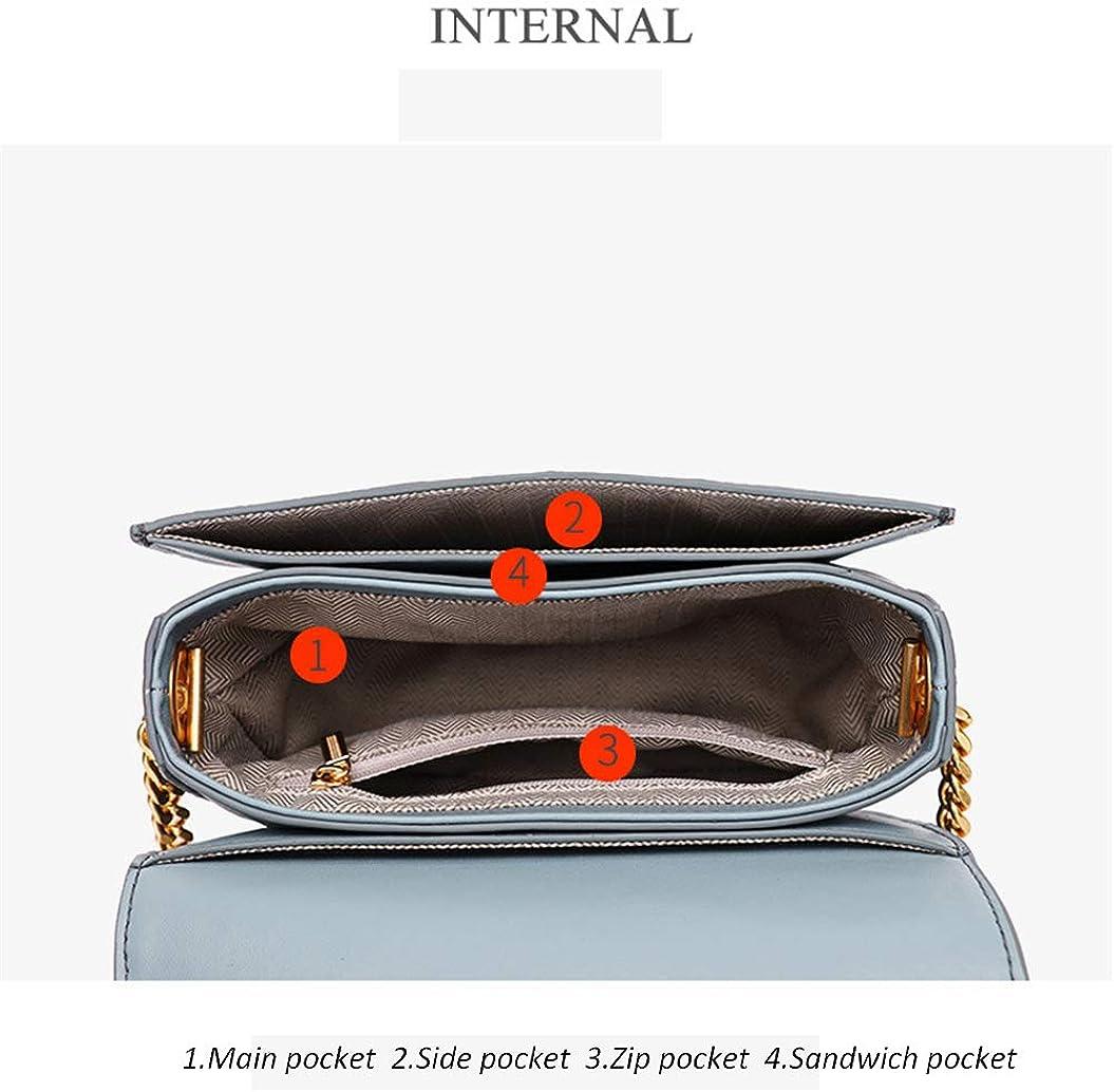 Womens Messenger Bag Saddle Bag Chain Small Bag Shoulder Bag