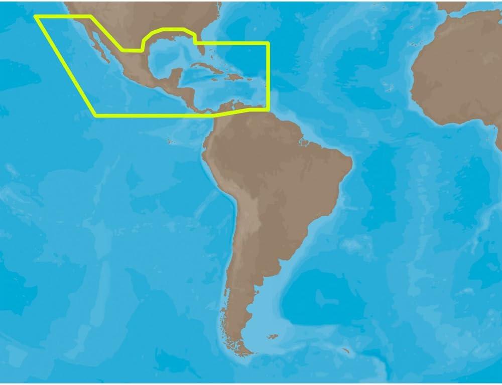 C-Map MAX - Tarjeta SD Amplia para Centroamérica y el Caribe: Amazon.es: Informática