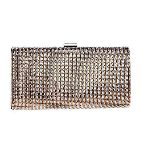 2 Bag QEQE Banquet Dinner Ladies Evening Dress Women's Color Clutch Diamond 1 qwSwv1xpZ