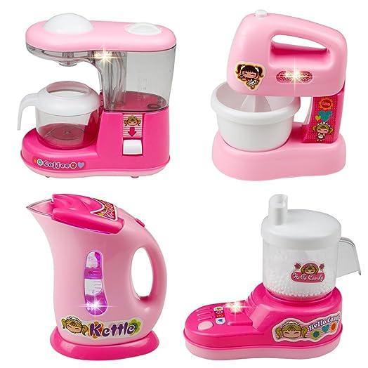 Childrens Kitchen Appliances Kitchen Toy Set Role Play Kitchen Toys  Accessories Kids Kitchen Playset Pretend Play