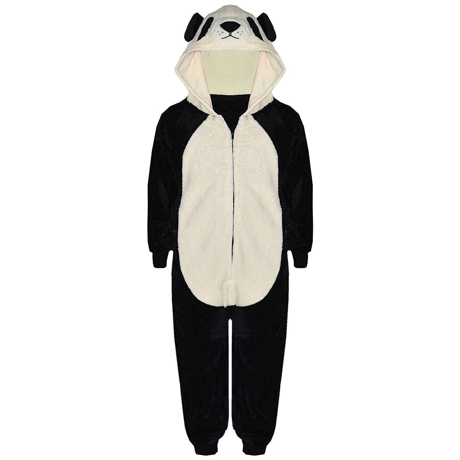 9a7be5cd1a0b Kids Girls Boys A2Z Onesie One Piece Soft Fluffy Panda Xmas Costume 7-13  Years  Amazon.ca  Clothing   Accessories