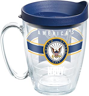 Clear Tervis 1286928 Army Pride Tumbler with Wrap and Black Lid 24oz