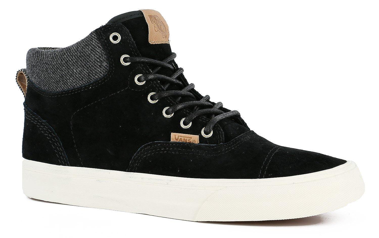 VANS ERA HI CA PIG SUEDE (Black Mix Textiles) Men s Shoes VN-0UC7GKF (8.5)   Amazon.ca  Shoes   Handbags 6e4482008