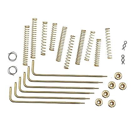 kipa carburetor calibration tuning kit for edelbrock cfm 1400 1404 1405  1406 1407 1408 1409 1411 wpa 1487 carter afb carburetor jets rods springs  jets sizes