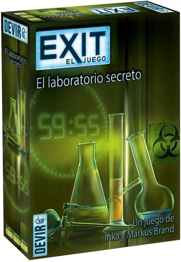 Devir - Exit: El laboratorio secreto, Ed. Español (BGEXIT3): Amazon.es: Juguetes y juegos