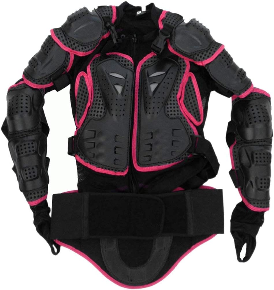 Shengerm Motocross Dirt Bike Full Body Armour Jacket Chest Shoulder Elbow Plastic Coverage Quad Motorcycle Protect Suit