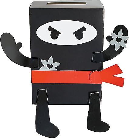 Amazon.com: Ninja San Valentín caja de titular de la tarjeta ...