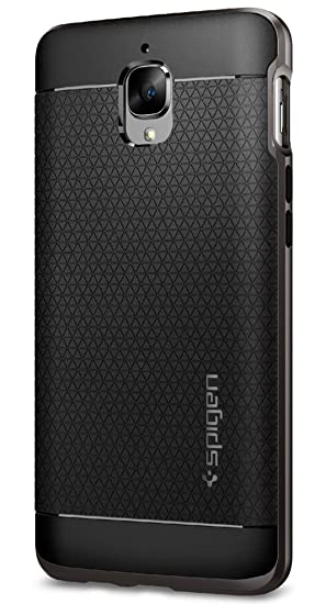 check out 8913c ccb8b Spigen Neo Hybrid Case for OnePlus 3 / One Plus 3T / OP3 -Gunmetal  K03CS20617