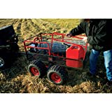 Yutrax-TX159-BlackRed-Trail-Warrior-X4-ATV-Utility-Trailer