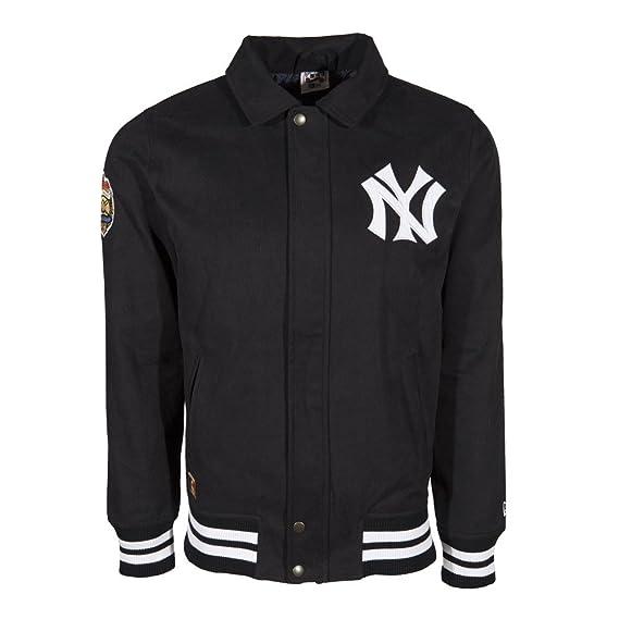 New Era MLB NEW YORK YANKEES Cotton Twill Jacket: Amazon.es: Ropa y accesorios