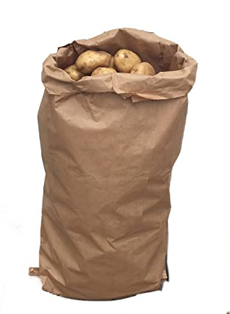 Nutley's 10 x 25kg Paper Potato Sacks Harvest Store Vegetables