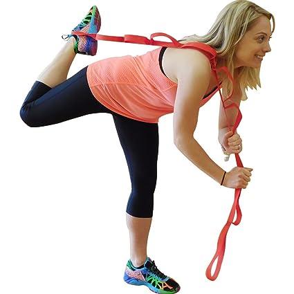 FMS Yoga Stretching Flexibility Stretch Strap Black2 Pack