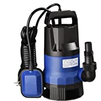 Yescom 400W 550W 750W Submersible Dirty Clean Water Pump Swimming Pool Pond Heavy Duty Water Transfer
