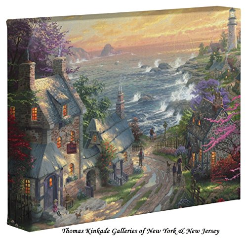 The Village Lighthouse - Thomas Kinkade