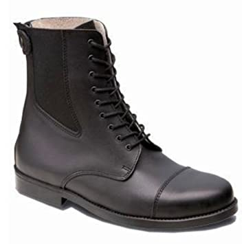 25628e641de73 Hobo Alexa New GP Laced Half-Boot Black: Amazon.co.uk: Sports & Outdoors