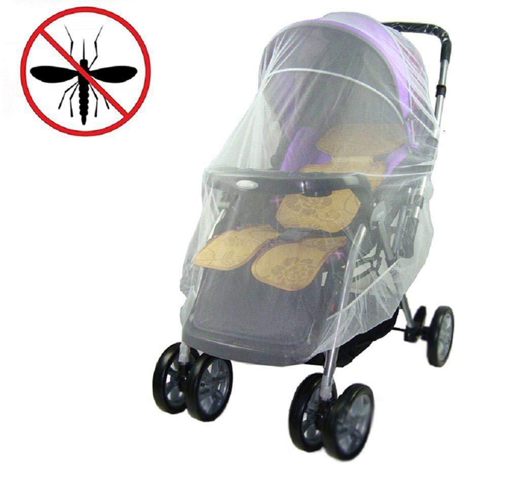 LAAT mosquitera carro bebe universal Cochecito Antimosquitos para Beb/é Red Antiinsectos para Capazo,Silla de Paseo