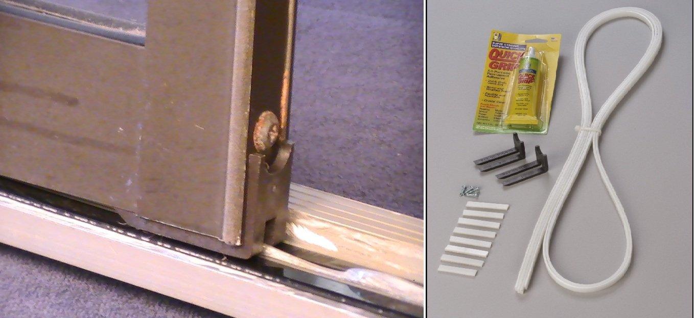 Amazon sliding glass patio door repair kit black home improvement planetlyrics Images