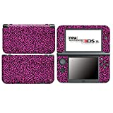 Leopard Pink for New Nintendo 3DS XL Skin Vinyl Decal Stickers + Screen Protectors