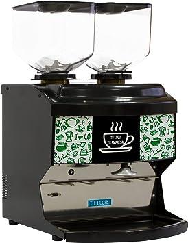 Molino de café Doble Motor hosteleria DH para Grandes consumos: Amazon.es: Hogar