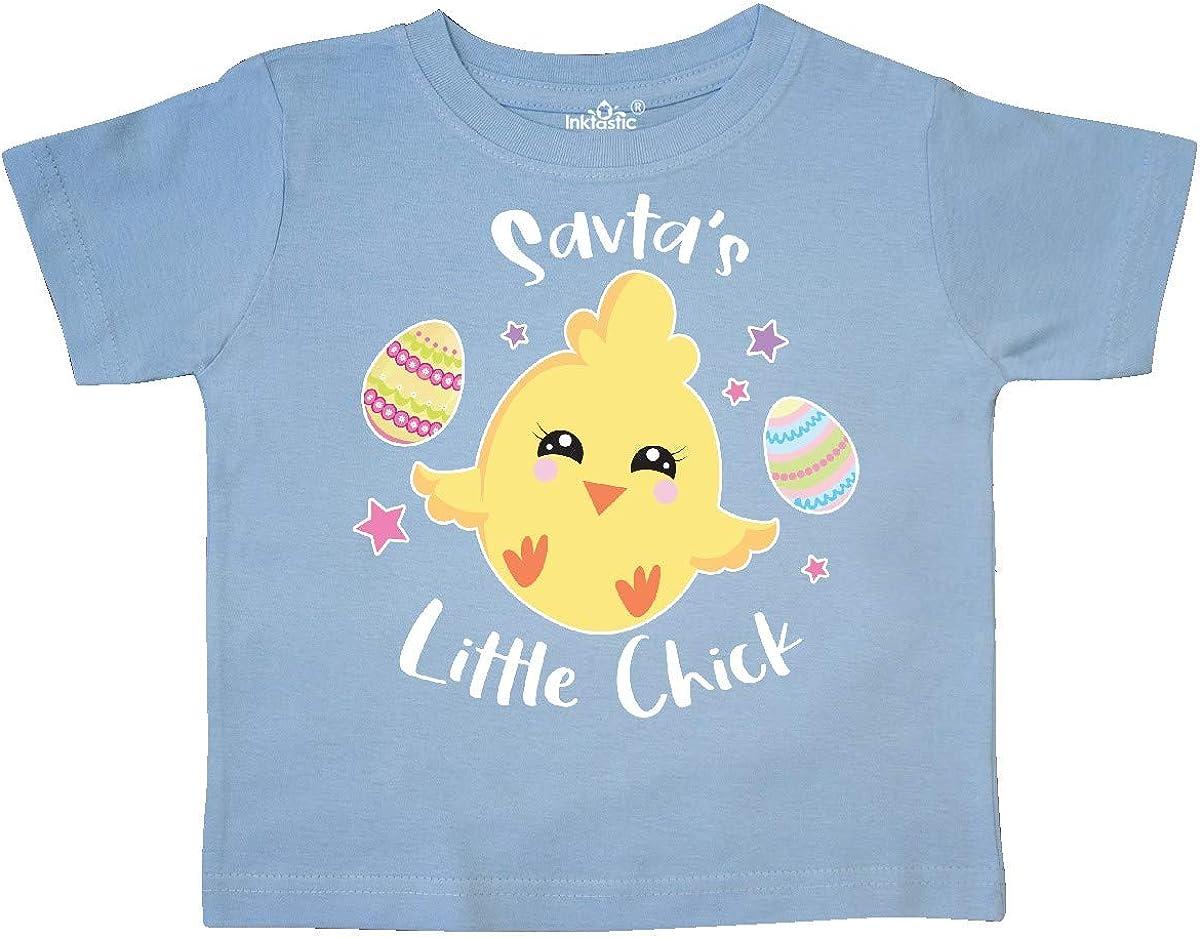 inktastic Happy Easter Savtas Little Chick Toddler T-Shirt