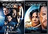 Ender's Game & Cloud Atlas Sci-Fi DVD Space Thriller Action Space Movie Set