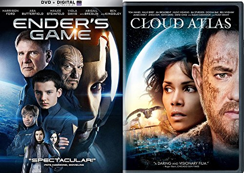 - Ender's Game & Cloud Atlas Sci-Fi DVD Space Thriller Action Space Movie Set