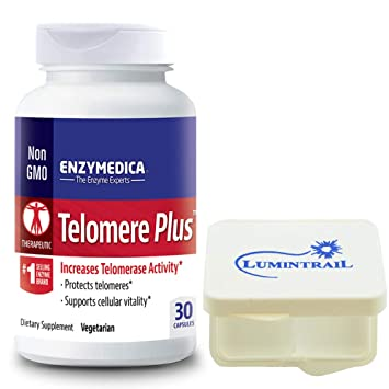 Amazon.com: Enzymedica – telomere Plus 30 °Cápsulas con ...