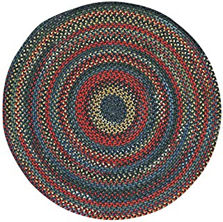 """product image for Capel High Rock Blue 0' 15"""" Round Braided Rug"""