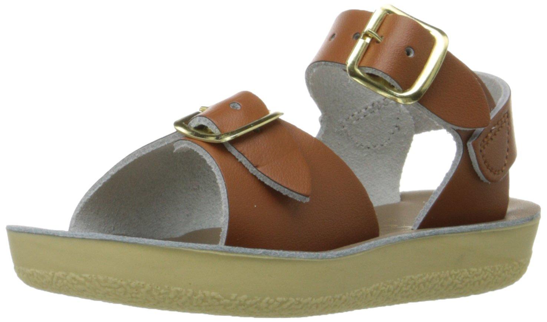 Salt Water Sandals by Hoy Shoe Sun-San Surfer,Tan,6 M US Toddler