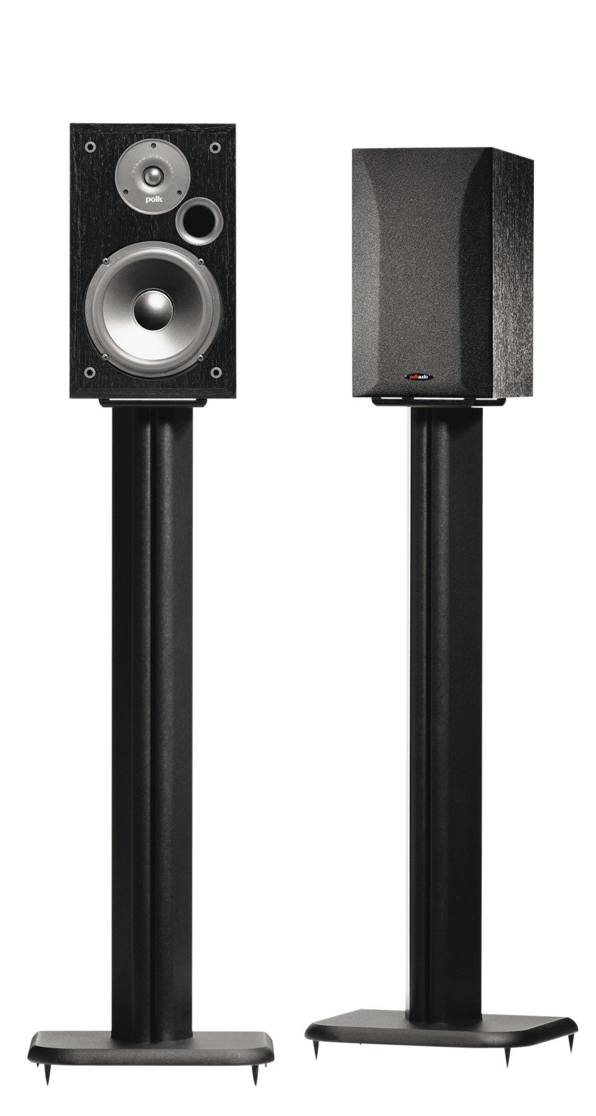 SANUS BF31-B1 31'' Speaker Stands for Bookshelf Speakers up to 20 lbs - Black - Set of 2